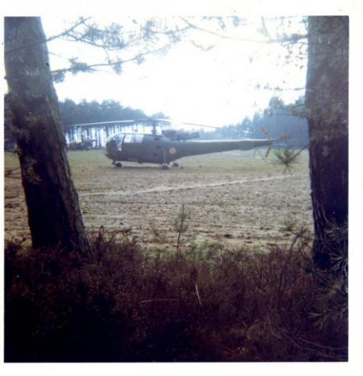 Hélicoptère Alouette 3 à GRAFFENWÖHR