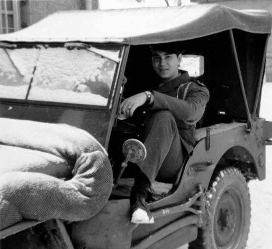 John et sa Jeep